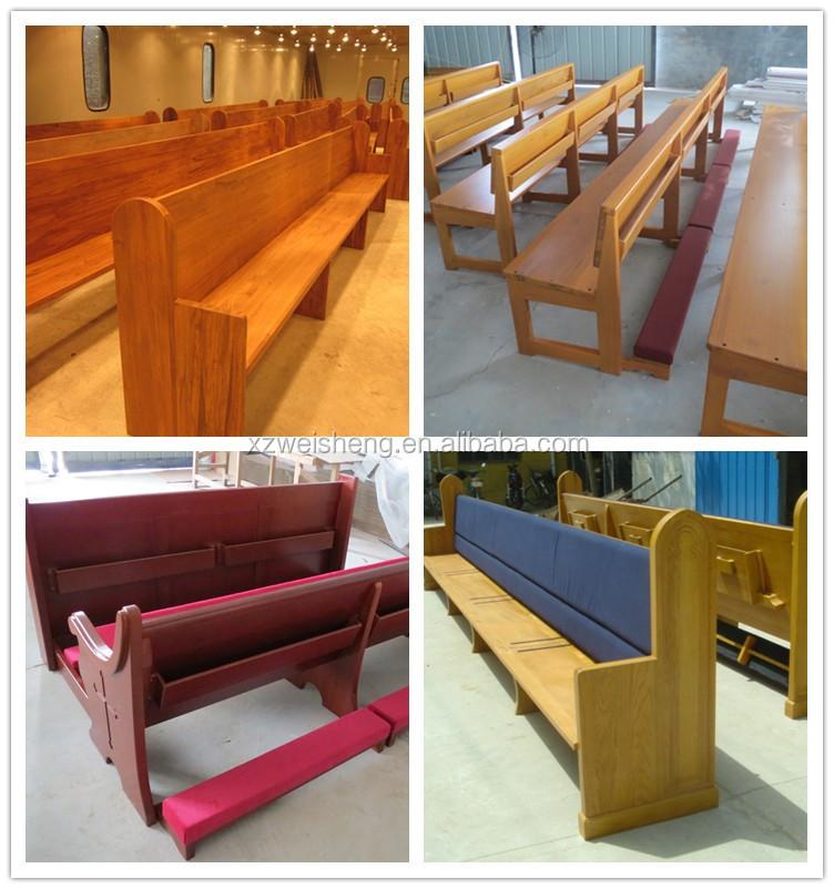 Bancs d'église matériau bois, Bancs d'église en chêne, Bancs d'église