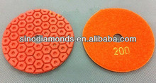 4inches resin wet diamond polishing pads for grantie