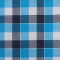 cheap 100% combed cotton, plaid fabric,stock woven fabric
