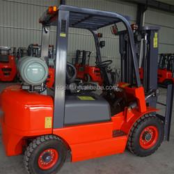 gasoline/lpg nissan engine forklift truck 3tons capacity for sale