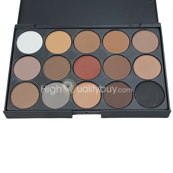 Wholesale-Professional Warm Nude Matte Shimmer Eyeshadow Palette ...
