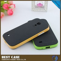 Ultra Slim Carbon Fiber Case For Samsung Galaxy S4 Mini I9190 Back Cover