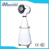 Dongguang DW-6C 0.31kw Indoor cooling system pedestal mist fan 220v water air cooler fan floor standing water spray fan