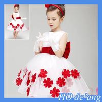 HOGIFT Flower children girl dress,Wholesale children's boutique clothing Girls Dresses In stock items, Girls Wedding Dresses