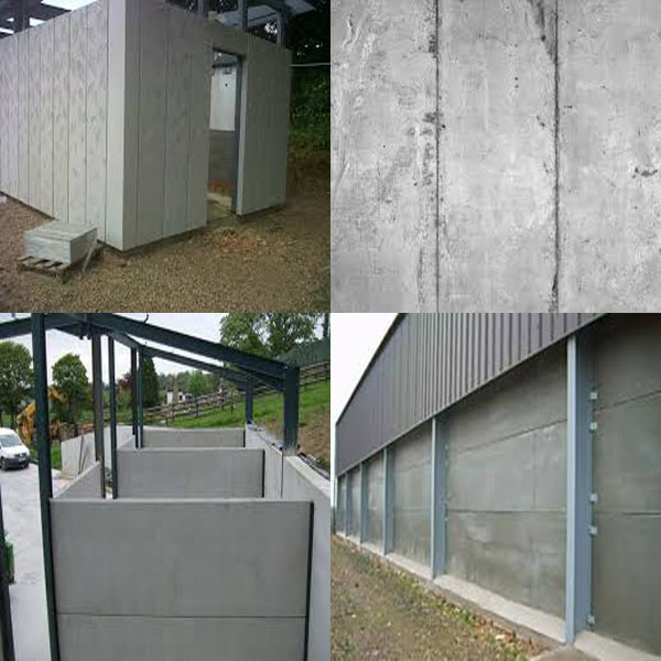 Small business ideas concrete fence with fence panels for Concrete panel house