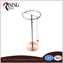 Brand shop counter top jewelry display stand
