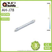 J type quartz halogen lamp tube j78 aladin 2015