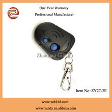 high quality universal remote control,remote control,universal remote with 2 buttons (ZY27-2E)