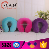 Promotion wholesale custom travel back pillow,memory foam neck pillow