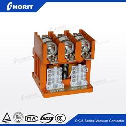 CE AC 3KM Mining 1.14KV 380V 250A Vacuum 24v Coil Contactor