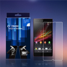 Anti-Shatter Screen Protectors Cover Film For Sony Xperia Z L36H