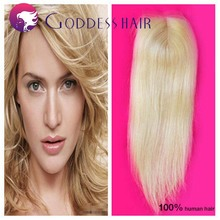 4x4 peruvian lace closure 613 blonde hair grade 7a virgin human hair full lace closures factory price