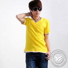 200 grams hot sale cotton/bamboo fiber tie dye tshirt for men