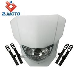 White Universal Headlight bulbs Dirt bike Motocross Supermoto Enduro KTM