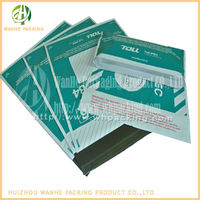 Plastic courier packaging bag for packaging