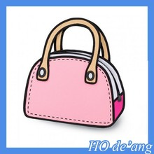 HOGIFT Hot Selling Funny Shoulder Bag/Magic Lady Handbag/Casual Tote Crossbody Bag