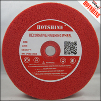 Hotshine DF61718 White Aluminum Polishing Wheel