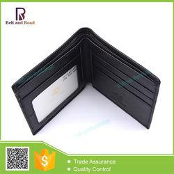 2015 Wholesale hot sell men's natural leather wallet