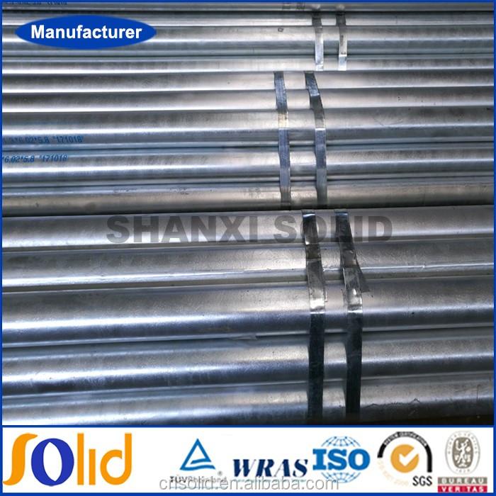 Welded schedule 80 pre galvanized steel pipe manufacturer (3).jpg