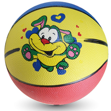 custom print cheap price rubber basketball for kids playing