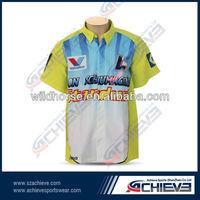 racing polo shirts 3 buttons custom design