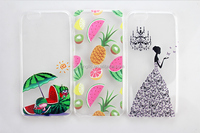 Fashion colorful back leather case fast deliver