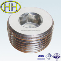 carbon steel and stainless steel round plug