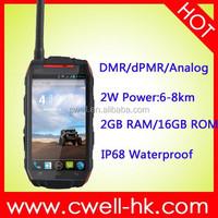 2015 new products Q1 ALPS mobile phone 5.0 inch DMR Walike Talkie waterproof Quad Core 2GB RAM/16GB ROM 8.0MP Camera NFC