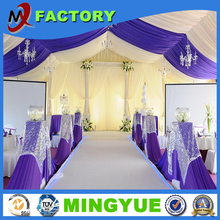 50m Large Party Tent Outdoor Leisure Activity Beautiful Waterproof Wind resistance Big Events From Foshan