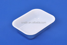 Disposable Airline catering aluminium foil container /foil meal tray /Airline foil lunch box with lid (ISO, EC, FDA)