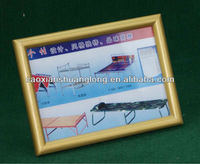 2013 new environmentally funny glass&wooden photo frame with various shape