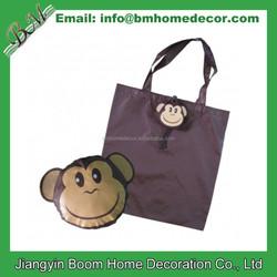 Monkey Shape Shopping Bag / Monkey Folding Bag / Monkey Foldable Bag