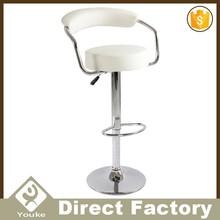 Latest design modern white outdoor bar stools