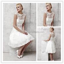 Wedding dresses: non white casual wedding dress