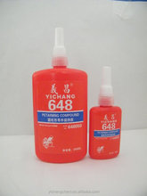 fast curing 648 liquid Retaining compounds