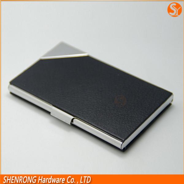 Engraving Metal Business Card Holder aluminum Name Card