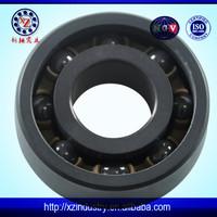 China ceramic si3n4 shower door bearing wheels deep groove 6203 bearing