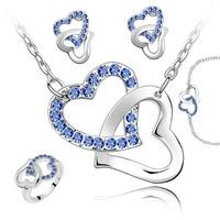American diamond jewellery sets wholesale full set jewellery