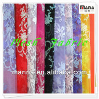 Wholesale african fabrics glitter floral cloth mesh fabric
