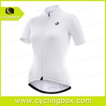 New pure white design style cool and solft 2015 women shorts cycling /bicycle jerseys with high quality