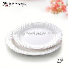 Europeu melamina branca jantar barato chapa de aço hardox 500