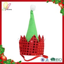 2015 innovative product musical christmas hat design cheap christmas hat wholesale