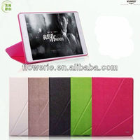 FL3291 2013 China wholesale folding stand leather flip case cover for apple ipad air