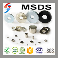 ring rare earth magnets with coating Ni Zn for speaker