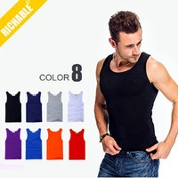 2014 Best Quality Fashion Stringer Tank Top Men Wholesale