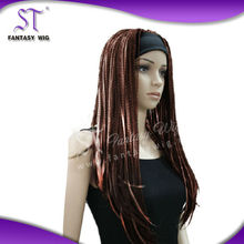 Yiwu Wholesale lace front braided wigs synthetic