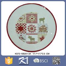 Eco-friendly printed design ceramic cheap china dishes