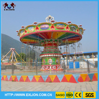 Made in China good quality lifting and dropping swing outdoor amusement ride 36 seats luxurious flying chair