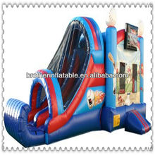 Inflatable combo castle kids games