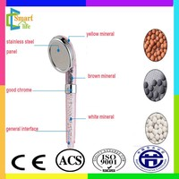 C-138-6 negative ion eco spa shower head with good pressure